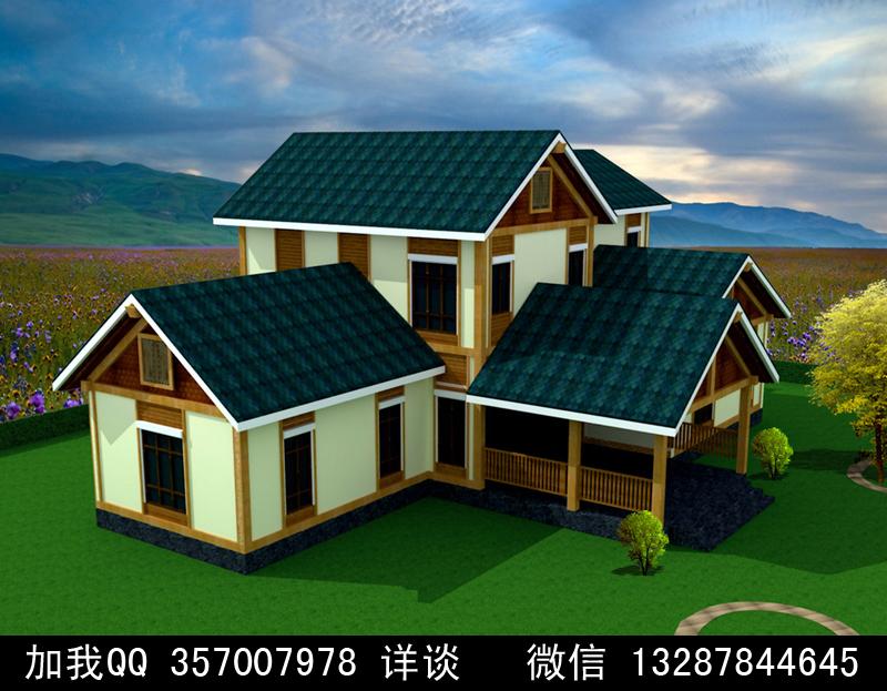最美小木屋设计图展示