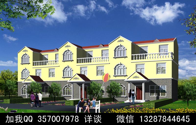 中国国际室内设计网 -农村别墅盖房设计案例效果图