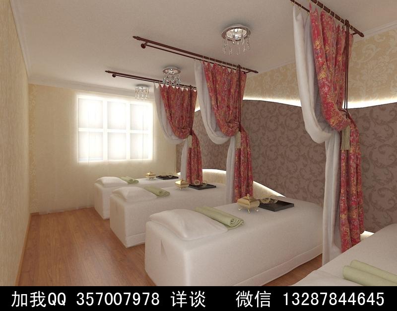美容院设计案例效果图2 -中国国际室内设计网图片